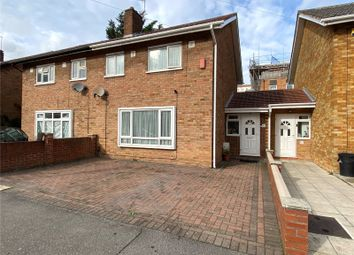 Thumbnail 3 bed semi-detached house for sale in St. Marys Road, Ilford, Essex