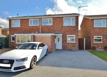 Thumbnail 3 bed semi-detached house for sale in Wheatley Crescent, Bluntisham, Huntingdon