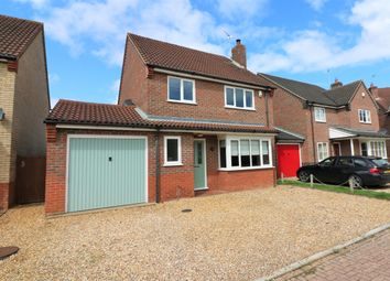 Thumbnail 4 bedroom detached house for sale in Brailsford Close, Dereham