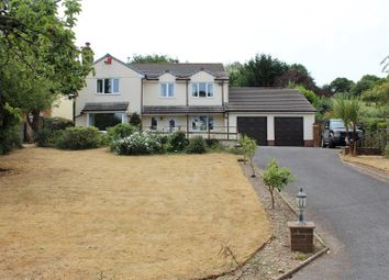 Thumbnail 4 bed detached house for sale in Sandford Close, Barnstaple