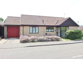 Thumbnail 3 bed detached bungalow for sale in Laxfield Way, Lowestoft