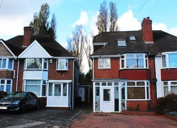 Thumbnail 4 bed semi-detached house to rent in Temple Avenue, Hall Green, Birmingham, West Midlands