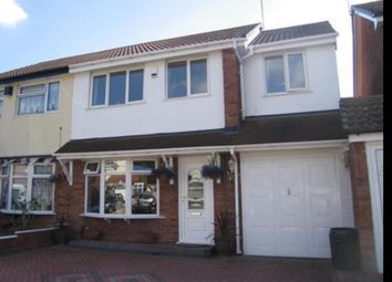 Thumbnail 4 bedroom semi-detached house for sale in Wooding Crescent, Tipton