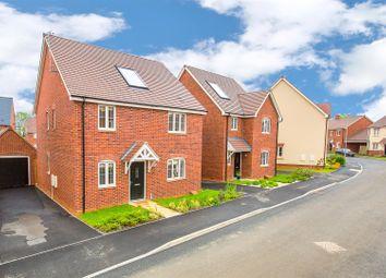 Thumbnail 4 bedroom detached house for sale in Cannock Crescent, Desborough