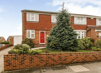 Thumbnail 4 bed semi-detached house for sale in Malyons Road, Hextable, Swanley, Kent