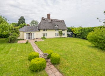 Thumbnail 3 bed detached house for sale in Whepstead, Bury St Edmunds, Suffolk