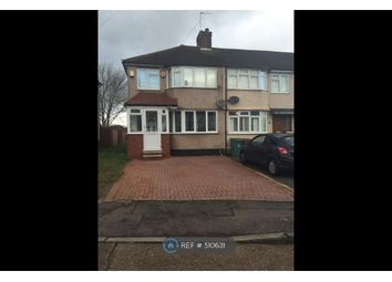 Thumbnail 3 bedroom end terrace house to rent in Alexandra Avenue, Sutton