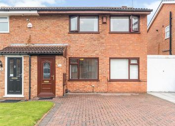 Thumbnail 3 bed semi-detached house for sale in Tiverton Close, Widnes, Cheshire