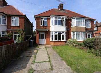 Thumbnail 3 bed semi-detached house to rent in High Road West, Felixstowe, Suffolk