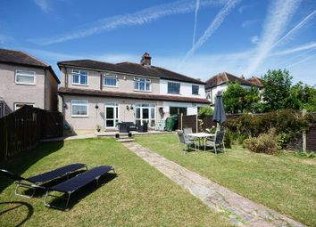 Thumbnail 4 bed semi-detached house for sale in Wrayfield Road, Cheam, Sutton