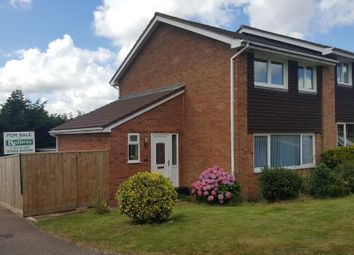 Thumbnail 3 bedroom semi-detached house for sale in Chineway Gardens, Ottery St. Mary