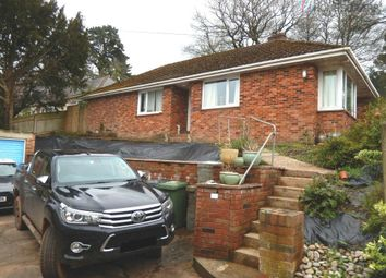 Thumbnail 3 bed detached bungalow for sale in Windsor Close, Exeter, Devon