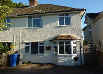 Thumbnail 3 bed semi-detached house to rent in Church Road, Poole