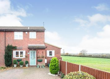 Thumbnail 3 bed end terrace house for sale in Springfields Close, Padbury, Buckingham