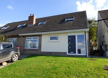 Thumbnail 3 bed semi-detached house for sale in Glan Tywi Uchaf, Ferryside