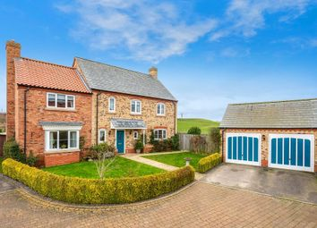 Thumbnail 5 bed detached house for sale in Manor Croft, Sudbrook, Grantham, Lincolnshire