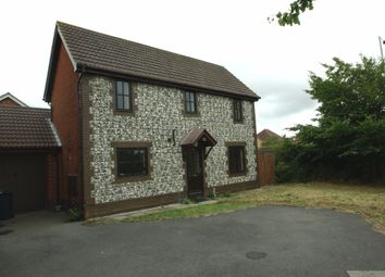 Thumbnail 3 bed detached house to rent in Roman Way, Ashford