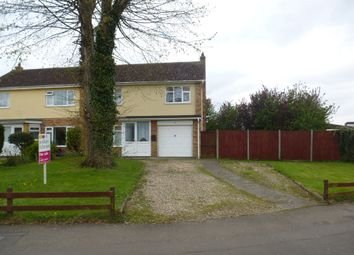 Thumbnail 3 bed semi-detached house for sale in Nelson Court, Watton, Thetford