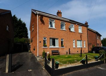Thumbnail 3 bed semi-detached house for sale in Pasadena Gardens, Ballyhackamore, Belfast