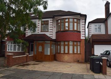 Thumbnail 3 bed semi-detached house for sale in Halstead Road, Winchmore Hill