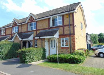 Thumbnail 2 bed end terrace house to rent in Two Mile Drive, Cippenham, Slough