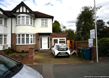 Thumbnail 3 bed semi-detached house to rent in Kingshill Drive, Harrow, Greater London
