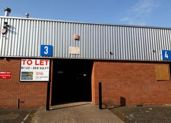 Thumbnail Light industrial to let in Oakbank Trading Estate, Block 1, Unit 3, Glasgow