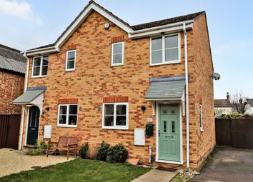 Thumbnail 2 bed semi-detached house for sale in Saxon Way, Willingham, Cambridge