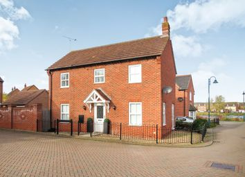 Thumbnail 3 bed detached house for sale in Shrub Road, Hampton Vale, Peterborough