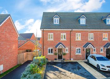 Thumbnail 3 bed end terrace house for sale in Carnoustie Drive, Corby