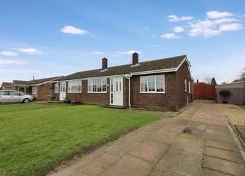 Thumbnail 3 bedroom semi-detached bungalow for sale in St. Michaels Road, Long Stratton, Norwich