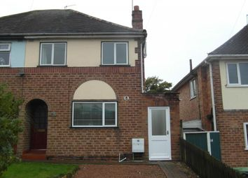 Thumbnail 2 bed semi-detached house to rent in Stratford Road, Bromsgrove