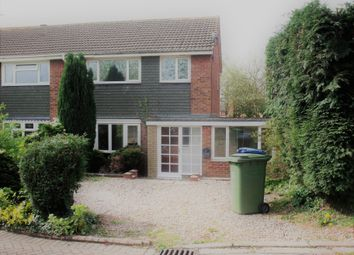 Thumbnail 3 bed semi-detached house to rent in Perrycrofts Crescent, Tamworth, Staffordshire