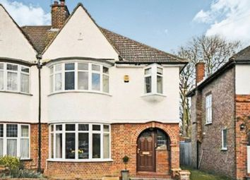 Thumbnail 3 bed semi-detached house to rent in Lyncroft Avenue, Pinner, Middlesex