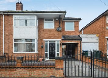 Thumbnail 4 bed semi-detached house for sale in Royal Crescent, Stonehouse Estate, Coventry