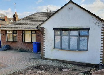 Thumbnail 3 bed detached bungalow for sale in Hilldale Avenue, Blackley, Manchester