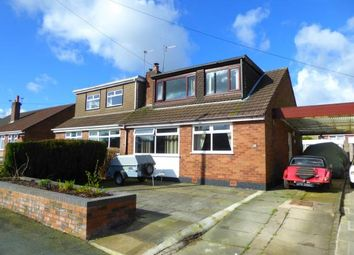 Thumbnail 3 bed bungalow for sale in Astley Close, Warrington, Cheshire