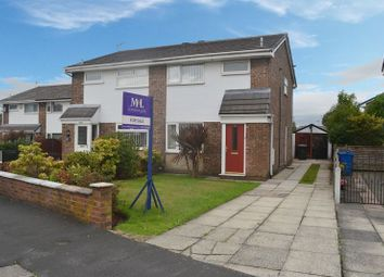 Thumbnail 3 bed semi-detached house for sale in Montford Rise, Aspull, Wigan
