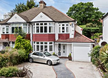 Thumbnail 3 bed semi-detached house for sale in Rafford Way, Bromley