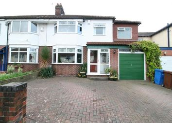 Thumbnail 4 bed semi-detached house for sale in Crossefield Road, Cheadle Hulme, Cheadle, Cheshire