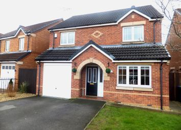 Thumbnail 4 bed detached house for sale in Kingfisher Road, Mansfield