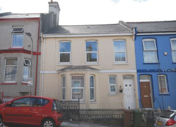 Thumbnail 5 bed terraced house for sale in Admiralty Street, Keyham, Plymouth. A Fabulous, Individual Large House For Refurbishment, Bags Of Character.