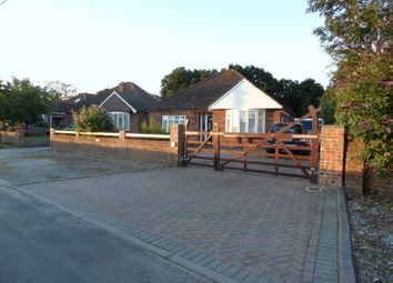 Thumbnail 3 bedroom detached bungalow for sale in Burnt House Lane, Stubbington, Fareham