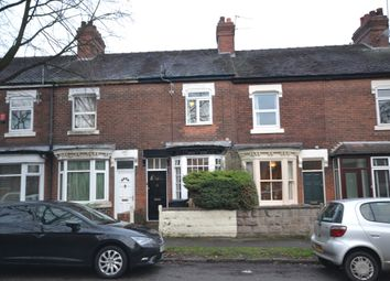 Thumbnail 2 bed terraced house for sale in Basford Park Road, Newcastle-Under-Lyme, Staffordshire