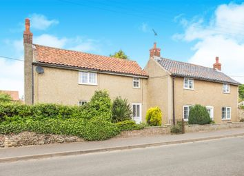 Thumbnail 5 bedroom detached house for sale in The Street, Gooderstone, King's Lynn