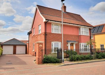 Thumbnail 4 bed detached house for sale in Mosscotts, Thaxted, Dunmow