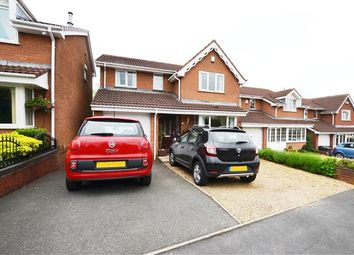 Thumbnail 4 bed detached house for sale in Ludford Close, Waterhayes, Newcastle