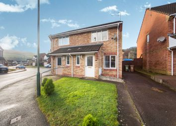 Thumbnail Semi-detached house for sale in Ty'n Y Parc, Abertridwr, Caerphilly