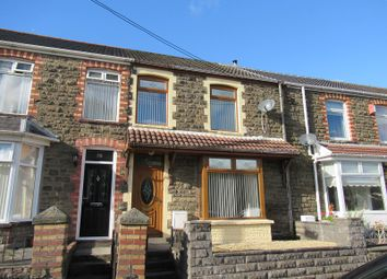 Thumbnail 3 bed terraced house for sale in Station Terrace, Maesteg, Bridgend.