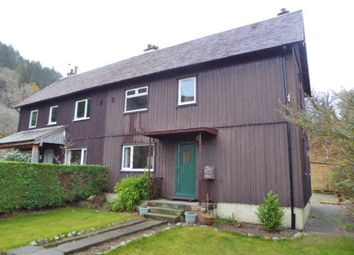 Thumbnail 3 bed semi-detached house for sale in 3, Forestry Houses, Clunes, Achnacarry